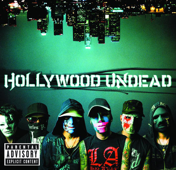 "Cover art for Hollywood Undead's album ""Swan Songs"" (UK Edition)"
