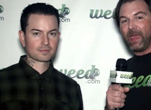 Jorel Decker (J-Dog) of Hollywood Undead doing interview with WeedTV